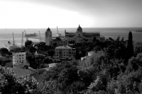 Porto di Ancona B/N